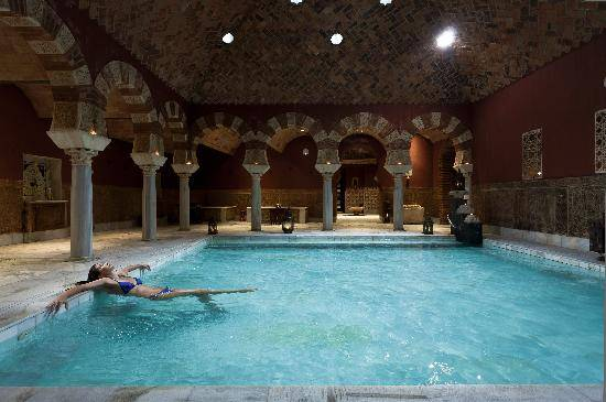 Baño Arabe En Granada:Hammam Al-Andalus