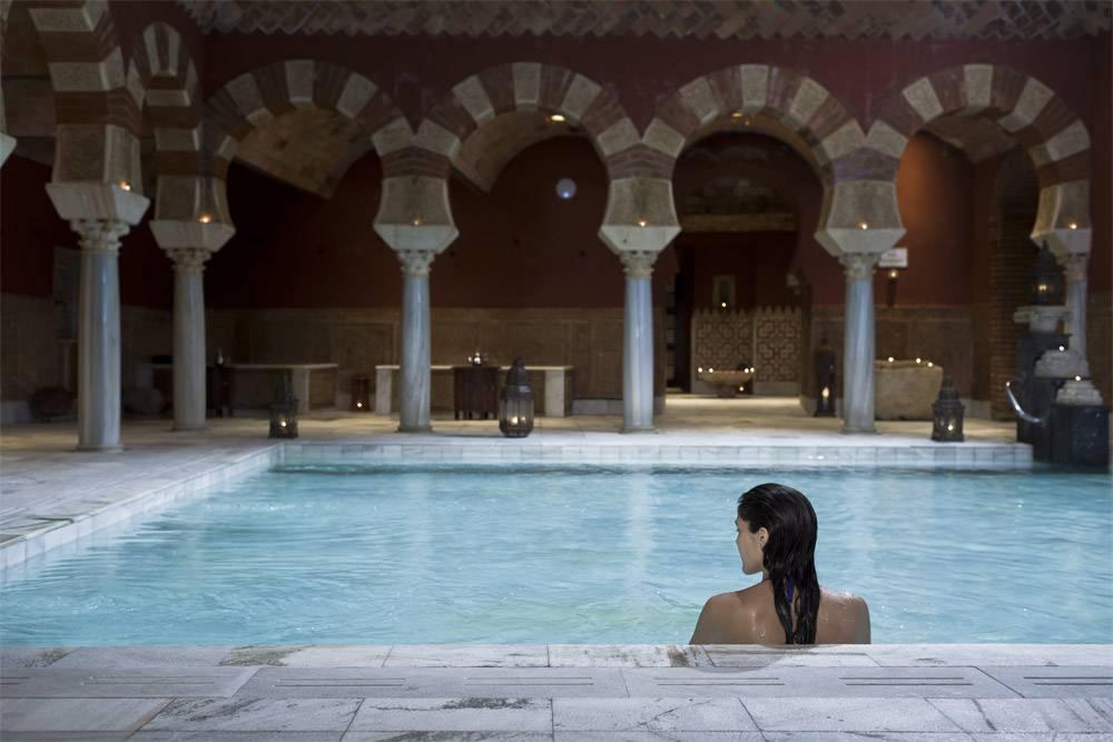 Baños Arabes Antiguos:Arab Baths Cordoba Spain